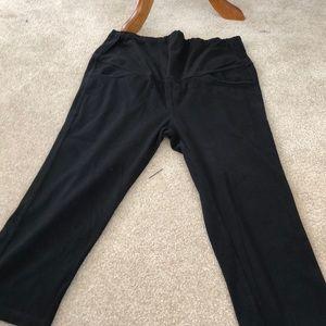 Pants - Cropped maternity pants